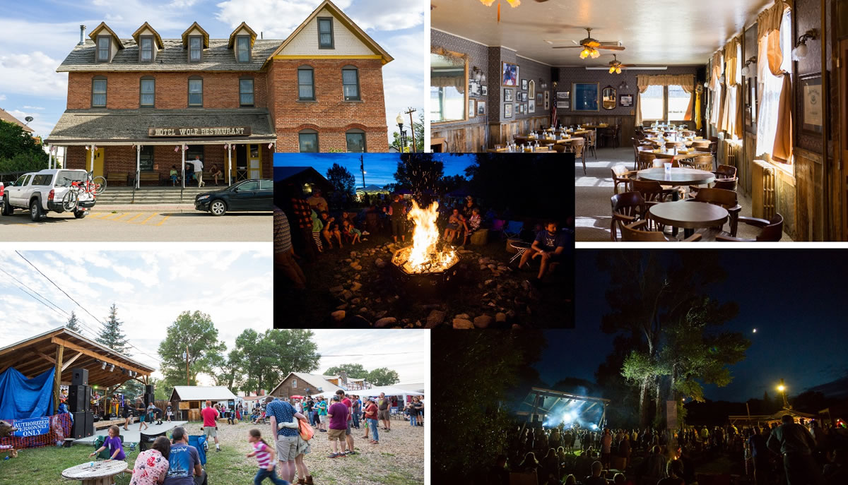 Saratoga Vacation: Hobo Hot Springs, Hotel Wolf, WHATFest