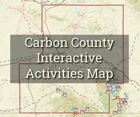 carbon county interactive activities map