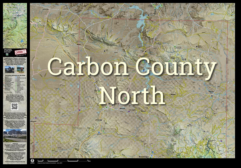carbon county map north