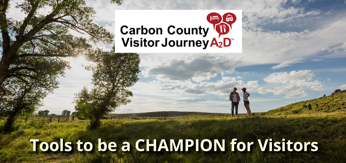 Carbon County Visitor Journey A2D