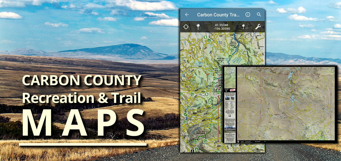 Carbon County Recreation & Trail Maps