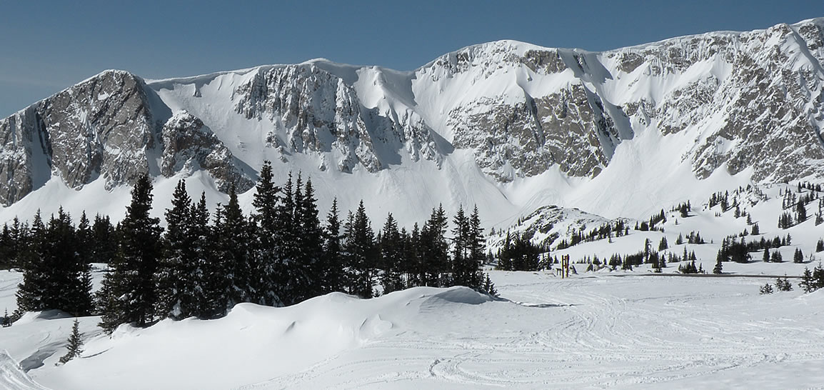 Snowmobiling the Snowy Range