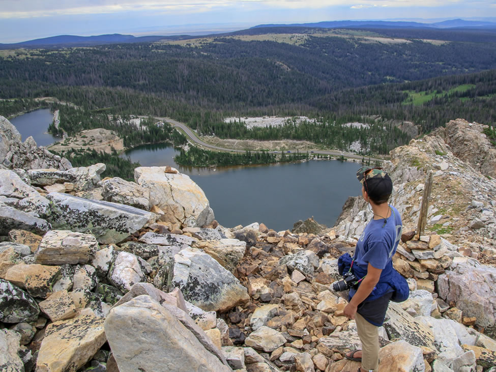 medicine bow peak trail