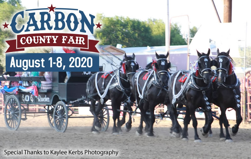 Carbon County Fair - August 1-8, 2020