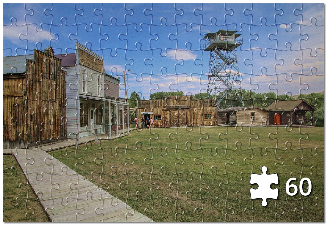 Grand Encampment Museum Puzzle