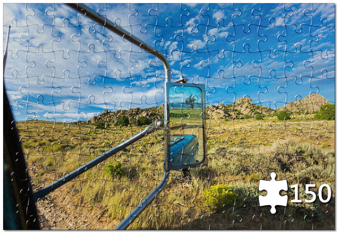 Wyoming Road Trips Puzzle
