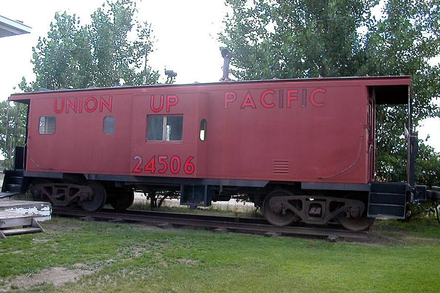 Union Pacific Railroad Exhibit Medicine Bow Wy