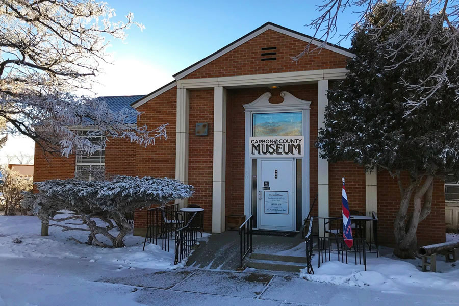 Carbon County Museum in in Rawlins, WY